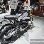 BMW R nineT rear quarter at Auto Expo 2016