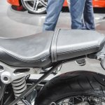 BMW R nineT seat at Auto Expo 2016