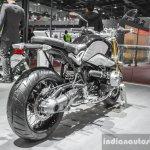 BMW R nineT swingarm at Auto Expo 2016