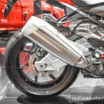 BMW S1000RR aluminium exhaust at Auto Expo 2016