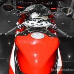 BMW S1000RR clip-on handlebars at Auto Expo 2016