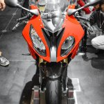 BMW S1000RR front at Auto Expo 2016
