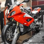 BMW S1000RR front quarter at Auto Expo 2016