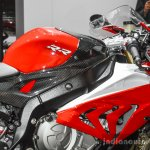 BMW S1000RR fuel tank at Auto Expo 2016