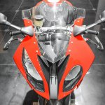 BMW S1000RR headlamps at Auto Expo 2016