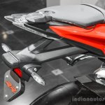 BMW S1000RR rear seat tail hanger at Auto Expo 2016