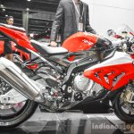 BMW S1000RR right side at Auto Expo 2016