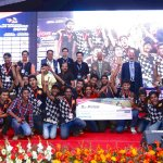 Baja 2016 third prize SRM University Chennai