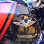 Bajaj V logo on fuel tank unveiled