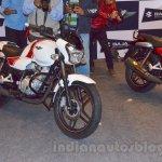 Bajaj V white front quarter unveiled