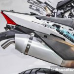 Benelli BX250 exhaust at Auto Expo 2016