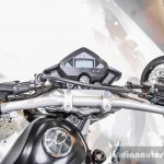 Benelli BX250 handlebar at Auto Expo 2016