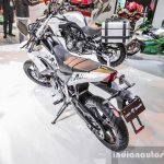 Benelli BX250 rear quarter at Auto Expo 2016