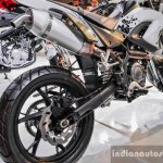 Benelli BX250 swingarm at Auto Expo 2016