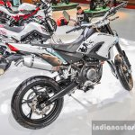 Benelli BX250 white at Auto Expo 2016
