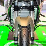 Benelli TNT 600GT Nero (black) crash guard at Auto Expo 2016