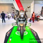 Benelli TNT 600GT Nero (black) front at Auto Expo 2016