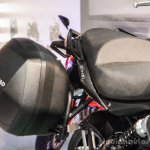 Benelli TNT 600GT Nero (black) pannier at Auto Expo 2016