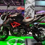 Benelli TNT 600i Nero (black) at Auto Expo 2016