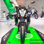Benelli TNT 600i Nero (black) front at Auto Expo 2016