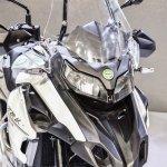 Benelli TRK 502 headlamps at Auto Expo 2016