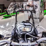 Benelli TRK 502 instrument console at Auto Expo 2016