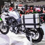 Benelli TRK 502 rear quarter at Auto Expo 2016