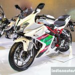 Benelli Tornado 300 front quarter at Auto Expo 2016