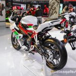 Benelli Tornado 300 rear quarter at Auto Expo 2016