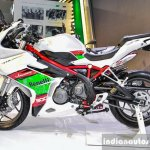 Benelli Tornado 300 side at Auto Expo 2016