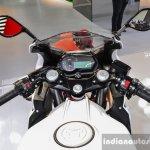 Benelli Tornado 300 split handlebars at Auto Expo 2016