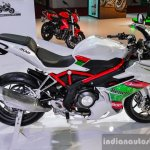 Benelli Tornado 300 white at Auto Expo 2016