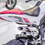 Benelli Tornado Naked T-135 exhaust at Auto Expo 2016