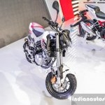 Benelli Tornado Naked T-135 fork at Auto Expo 2016