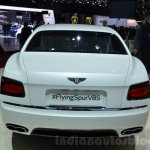 Bentley Flying Spur V8 S rear at the 2016 Geneva Motor Show Live