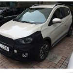 Chevrolet Beat Activ (Spark Activ) front starts testing