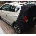 Chevrolet Beat Activ (Spark Activ) rear starts testing