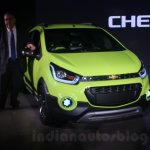 Chevrolet Beat Activ concept front quarter at the Auto Expo 2016