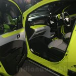 Chevrolet Beat Activ concept passenger area at the Auto Expo 2016