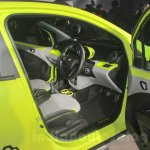 Chevrolet Beat Activ interior at 2016 Auto Expo