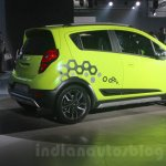 Chevrolet Beat Activ rear three quarter at 2016 Auto Expo