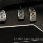 Chevrolet Beat Manchester United edition aluminum pedals at 2016 Auto Expo
