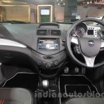 Chevrolet Beat Manchester United edition dashboard at 2016 Auto Expo