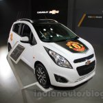Chevrolet Beat Manchester United edition front left three quarter at 2016 Auto Expo
