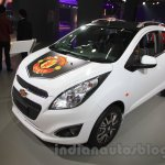 Chevrolet Beat Manchester United edition front right three quarter at 2016 Auto Expo