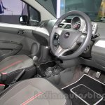 Chevrolet Beat Manchester United edition interior at 2016 Auto Expo