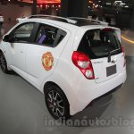 Chevrolet Beat Manchester United edition rear left three quarter at 2016 Auto Expo