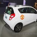 Chevrolet Beat Manchester United edition rear right three quarter at 2016 Auto Expo