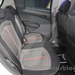 Chevrolet Beat Manchester United edition rear seat at 2016 Auto Expo