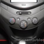 Chevrolet Beat special edition aircon controls at 2016 Auto Expo